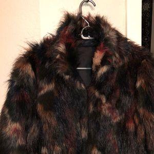 Macyu0027s Jackets u0026 Coats - Macyu0027s Faux Fur Coat